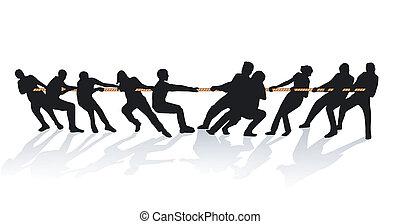 Juntos en la cuerda