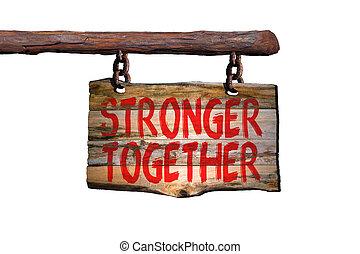 Juntos más fuertes