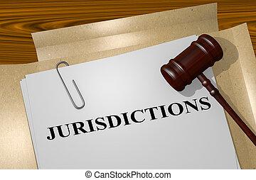 Jurisdicciones, concepto legal