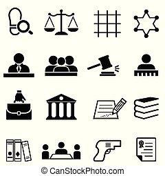 Justicia, ley, legal y abogado