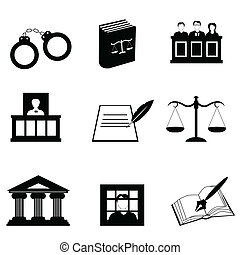 Justicia y iconos legales