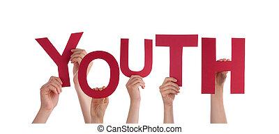 juventud, tenencia, gente