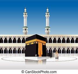 kaaba, arabia saudita, mecca