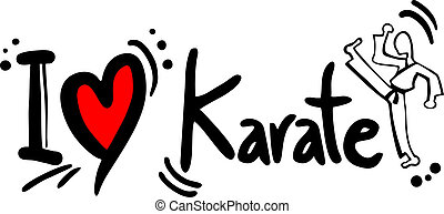 karate, amor