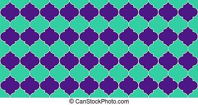 kareem, ramadan, tradicional, marroquí, patrón, islam, seamless, fondo.
