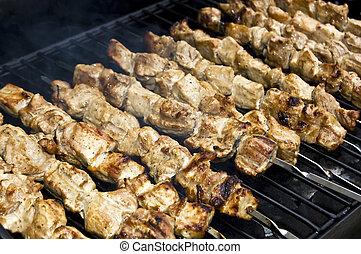«kebab» de shish