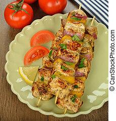 kebabs pollo