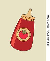 ketchup de tomate