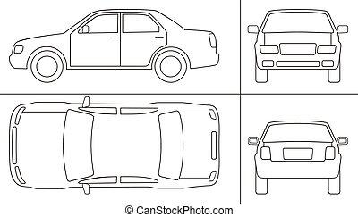 keyline, coche