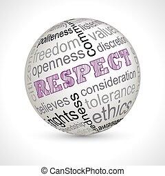keywords, respeto, tema, esfera