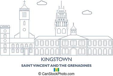 Kingstown City Skyline, Saint Vincent y las granadinas