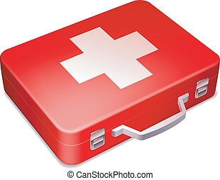 Kit de primeros auxilios.
