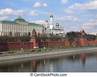 Kremlin en Moscú. Rusia.