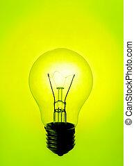 lámpara, iluminación