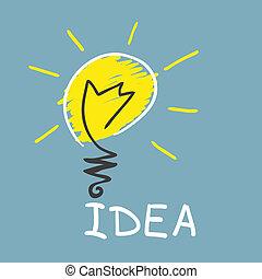 Lámpara innovadora. Un concepto ideal