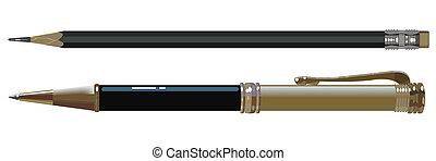 lápiz, bolígrafo
