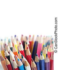 Lápiz de diferentes colores