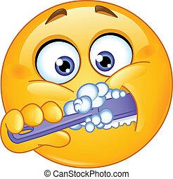 Lávate los dientes