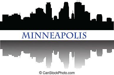 Línea aérea Minneapolis