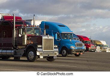 Línea de camiones 1