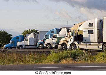 Línea de camiones 2