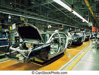 Línea de producción de coches