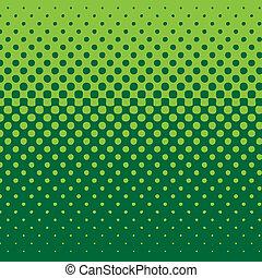 Línea media tono verde