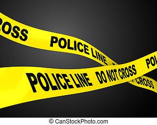 Línea policial