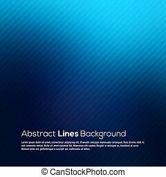 Líneas abstractas azules vector de fondo.
