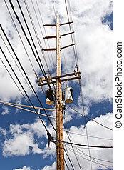 Líneas de alto voltaje