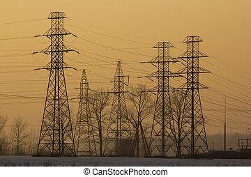 Líneas de energía