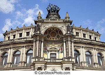 La ópera de Semper en Dresden