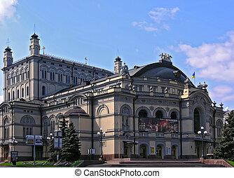 La ópera nacional de Ucrania