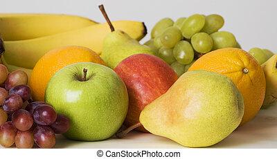 La abundancia de frutas