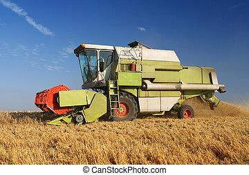 La agricultura se combina