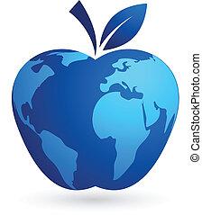 La aldea global, la manzana mundial