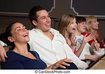 La audiencia de risa en el cine