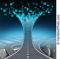 La autopista digital