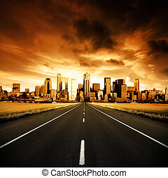 La autopista urbana