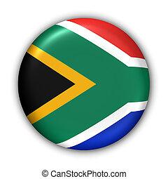 La bandera de África del Sur