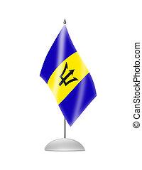 La bandera de Barbados