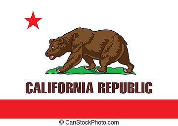 La bandera de California