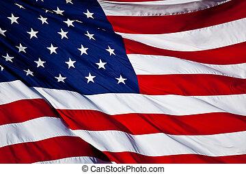 La bandera de EEUU