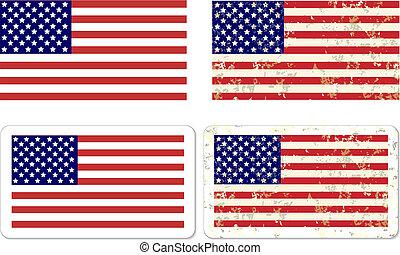 La bandera de los EE.UU