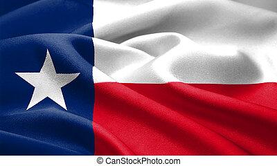 La bandera de Texas.