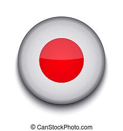 La bandera del círculo creativo del vector en blanco. Eps10