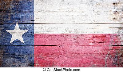 La bandera del estado de Texas