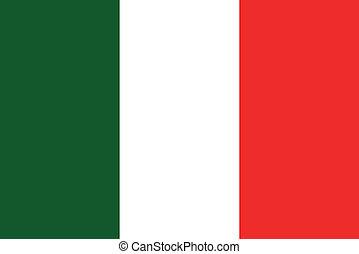 La bandera italiana