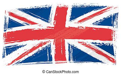 La bandera unida del reino