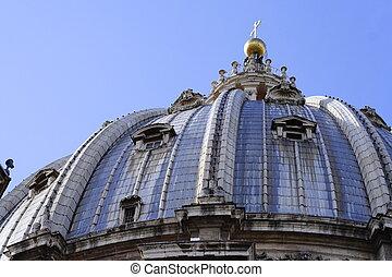 La basílica de San Pedro en Roma